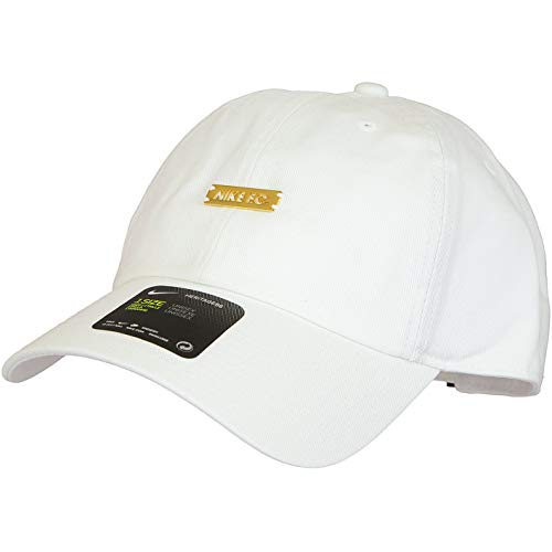 Nike H86 F.C. Cap (one Size, White/Gold)