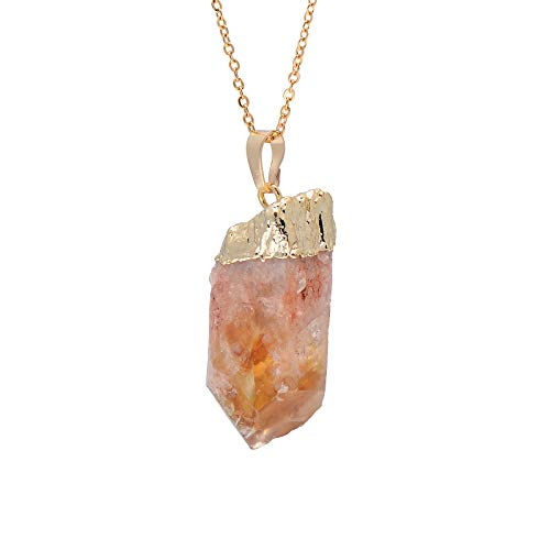 gold calcite crystal - 2