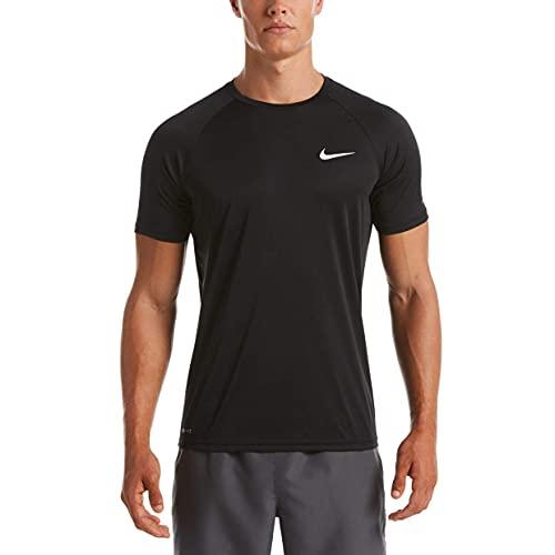 Nike Essential Short Sleeve Hydroguard Black XL