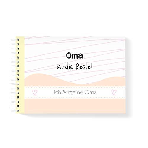 mintkind Erinnerungsbuch Ich und meine Oma I Momente und Erinnerungen festhalten I Fotoalbum Geschenkidee DIY