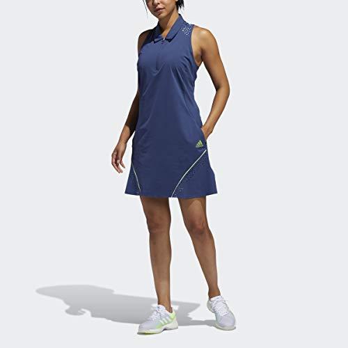 adidas Golf Perforated Color Pop Dress, Tech Indigo, Small