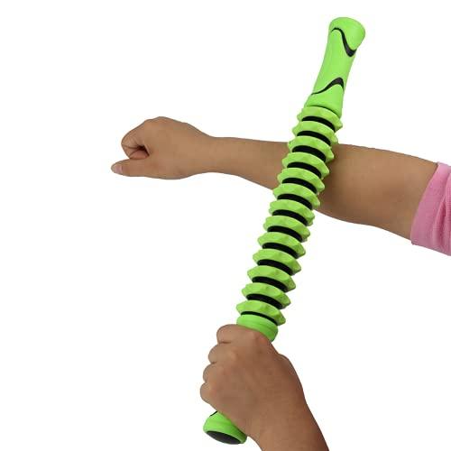 Okuyonic Stick massaggiante Modellante per la casa per la Palestra(Verde)