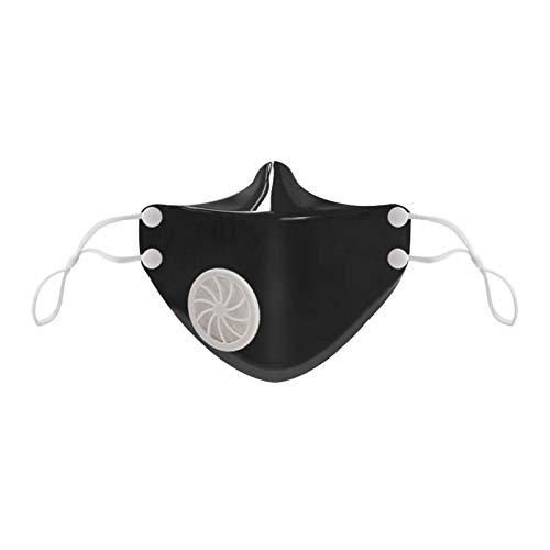 Koippimel 2Pcs, Kids Silicone Face_Mask with Breathing Valve, Anti-Fog_Masks Washable Reusable for Student Kindergarten, School, 1115 Style_144