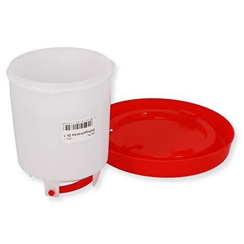 Geflügeltränke automatisch Hühnertränke Stülptränke Hühner Tränke zum Aufhängen oder Hinstellen (Gr.1) - 2