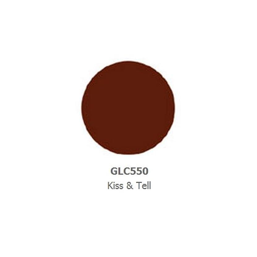 ジョグ微生物クレーンLA GIRL Luxury Creme Lip Color - Kiss & Tell (並行輸入品)
