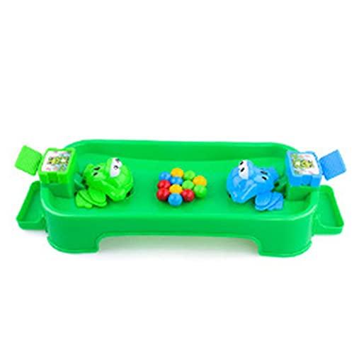 WEFH Toy Frog Baby Candy Fast Hand Fast Eye Great Reflex Juguete para niños Regalo, Verde