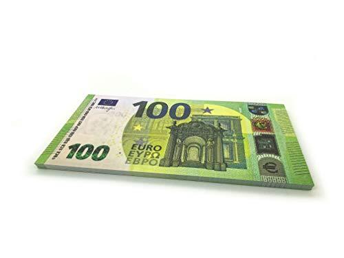 Cashbricks® 75 x €100 Euro Dinero de Juguete (ampliados al 125% del tamaño Original)