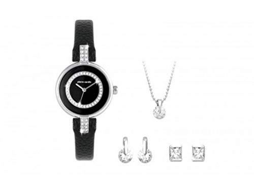 Pierre Cardin, Elegante Juego de Regalo para Mujer, Reloj y