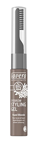 lavera Style und Care Eyebrow Gel ∙ Farbe Hazel Blonde blond ∙ Augenbrauen & Wimpern Gel ∙ Natural & innovative Make up ✔ Bio Pflanzenwirkstoffe ✔ Naturkosmetik ✔ Augen Kosmetik 1er Pack 1x 9 ml