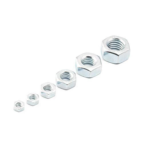10 Stück Sechskantmutter DIN 934 / M14 / Material: verzinkt Güteklasse: 8 / Außensechskant Mutter