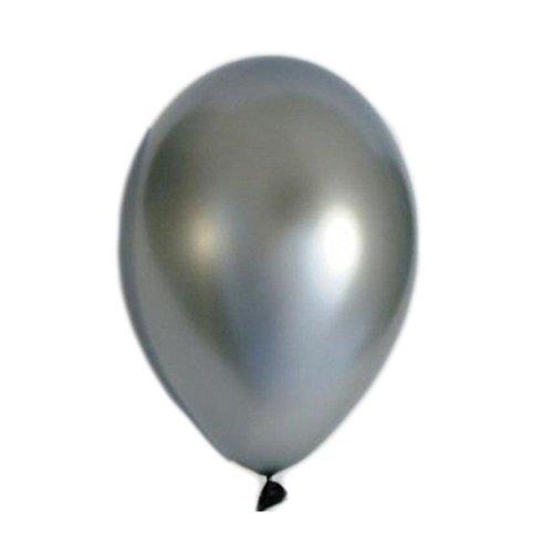 Ballons de Baudruche - couleur argent - diam. 26cm - Pack de 100