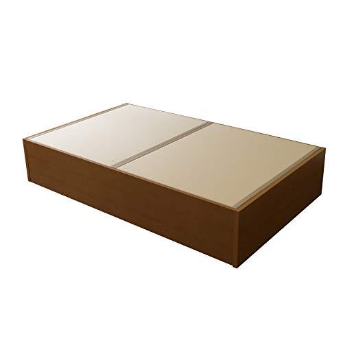 こうひん 日本製 畳ベッド 大容量収納付 『スパシオ』 シングル 幅101cm 全長202cm 高さ38cm 【工具付・約3...
