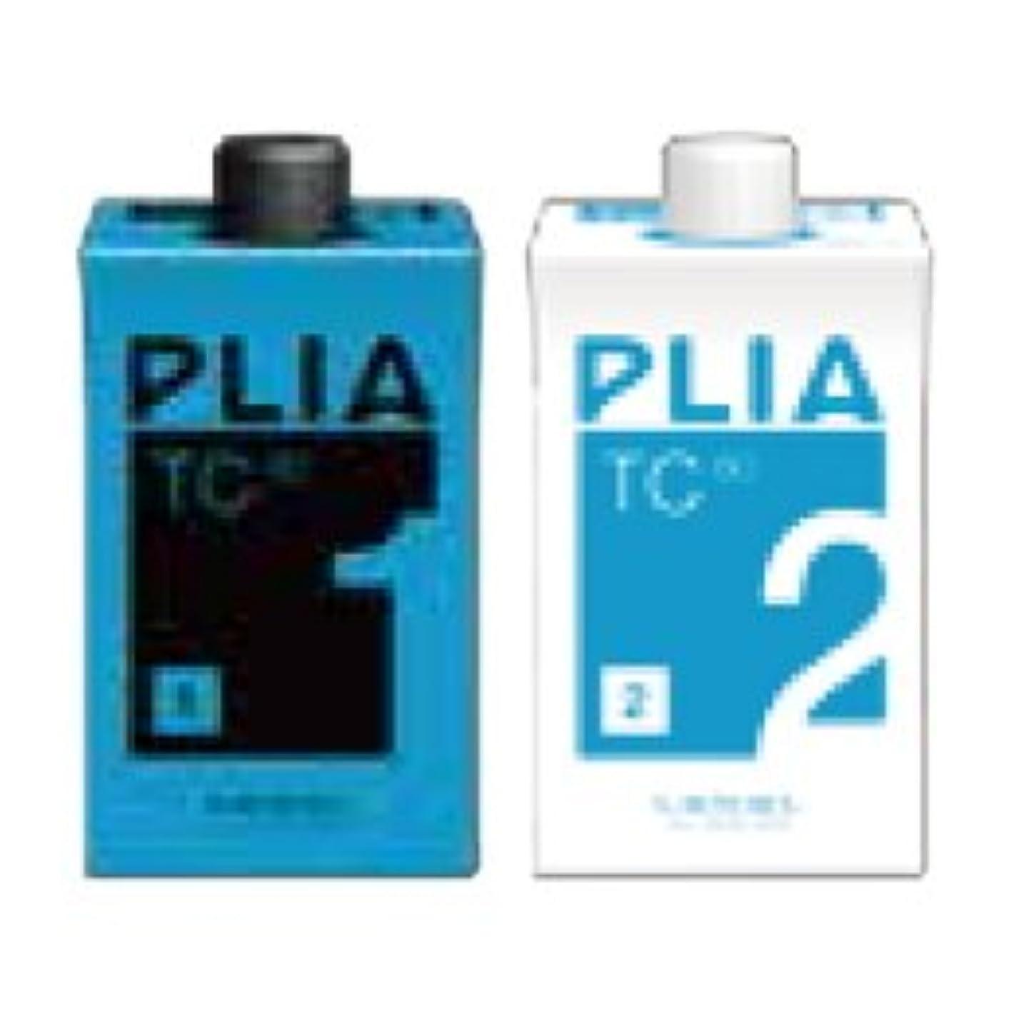 毎回ハブブサイトラインルベル プライア T/Cn (TC60) 1剤/2剤セット 各400ml (パーマ剤)(医薬部外品)(業務用)