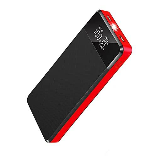 Power Bank 26800mAh,Carga Rápida Bateria Externa con 5 Puerto,2 USB con PD18W/QC3.0,Cargador Portátil Móvil Ultra Alta Capacidad con Pantalla LCD,Bancos de energía portátiles para Phone Tableta y Más