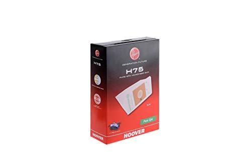 Hoover H75 H75-Hoover Sacchetto per aspirapolvere Epa (x4), 5 Litri, Carta
