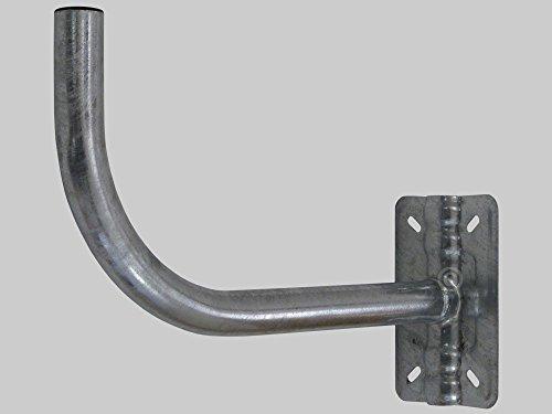 Fte-maximal pg40 - Soporte pg40 curvo pared/mástil barandilla 40mm