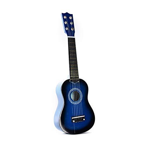 JiaLG Nuevo Ukelele 21 Pulgadas Ukulele Soprano 4 Cuerdas Spruce Hawaiian Guitarra de Guitarra de Basswood Instrumento de Cuerda (Color : Blue)
