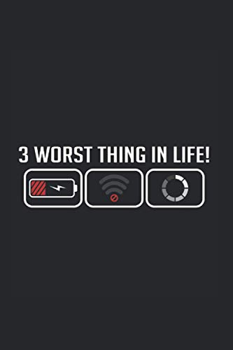 Worst Life Phone Gadget Addicted Journal: Funny Dot-Grid Notebook If You Love Technology And Mobile Phones. Cool Journal For Coworkers And Students, Sketches, Ideas And To-Do Lists