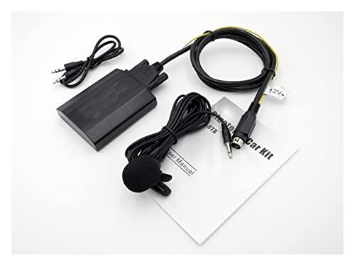 JINJUANYAO Coche Bluetooth AUX Mp3 reproductor compatible con Volvo SC-XXX Radios SC700 SC800 SC801 SC802 SC805 Mp3 reproductor CD cambiador adaptador YTBTK