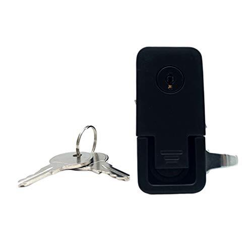 Homyl 1 Stück Schloss + 2 Stücke Schlüssel Kompressionsverschluss-Ersatz mit Schlüsseln
