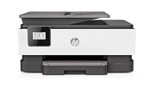 HP OfficeJet Pro 8012 - Impresora Multifunción de Tinta con hasta 4 cartuchos de impresión a color (18 ppm, 4800 x 1200 dpi, A4, WiFi, 256 MB)