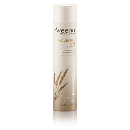 Aveeno Nourish+Shine Shampoo, 10.5  Ounce