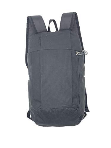 Silfrae Kids Adults Outdoor Backpack Daypack Mini Small Bookbags10L… (Black, 10L)