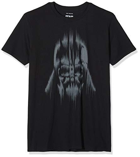 Star Wars Herren Vader Lines T-Shirt, schwarz, XL