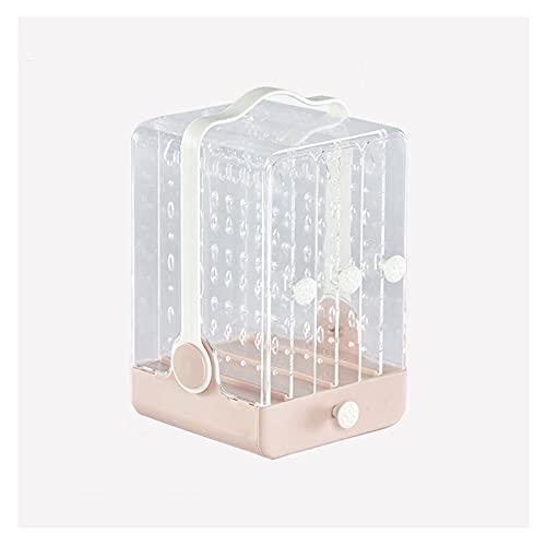 OMIDM Jewelry Box, Organizador De Joyería De Acrílico 1 Cajones 3 Pendientes Perspago Rings Brazaletes Caja De Collares para Mujeres Regalo De Niñas (Color : B)