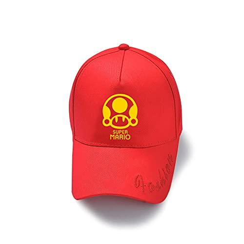 Sombrero de Super Mario Super Mario Luigi Mario Mario Mario Mario Peripheral Caps Sombrero de béisbol para hombres y mujeres Sombrero para el sol
