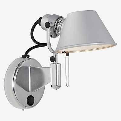 Artemide a044050Interior 46W aluminio lámpara de pared–Lámpara (Interior, E14, aluminio, Aluminio, cepillado, IP20)
