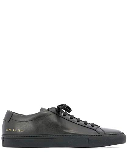 COMMON PROJECTS Luxury Fashion Herren 15287547 Schwarz Leder Sneakers | Jahreszeit Permanent
