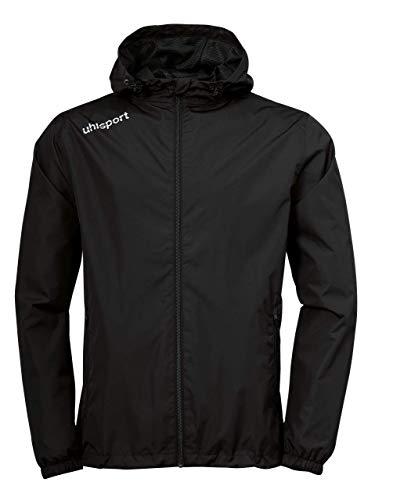 uhlsport Essential Regenjacke, Größe:XXXL, Farbe:schwarz/weiß