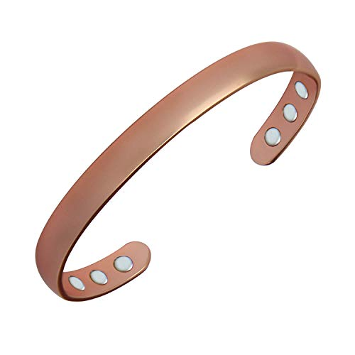 Genuine Copper Magnetic Ring Adjustable Wire Ball Design Health Joint Pain