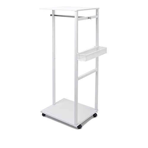 in budget affordable Joy Mangano Ultimate White Wheel Stand