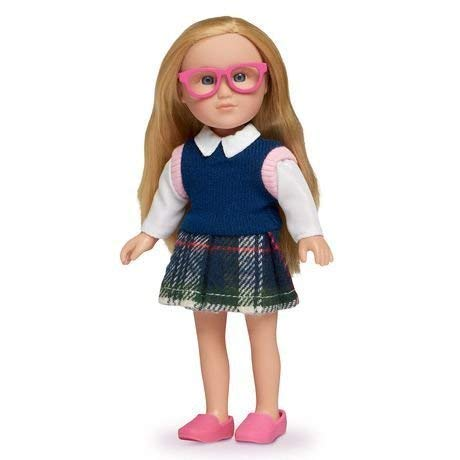 myLife Brand Products New! My Life Mini School Girl Doll - 7-inch
