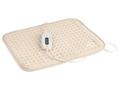 Sanitas Heizkissen SHK 22 Wärmekissen Rückenkissen Wärmedecke Heizdecke 100Watt Abschaltautomatik, Beige