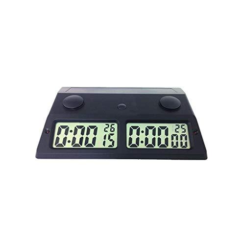 Reloj de ajedrez Alarma electrónica Temporizador de Parada Relojes de ajedrez Tablero de ajedrez al portátil Profesional Juegos de ajedrez de competición Reloj de ajedrez mecánico (Col