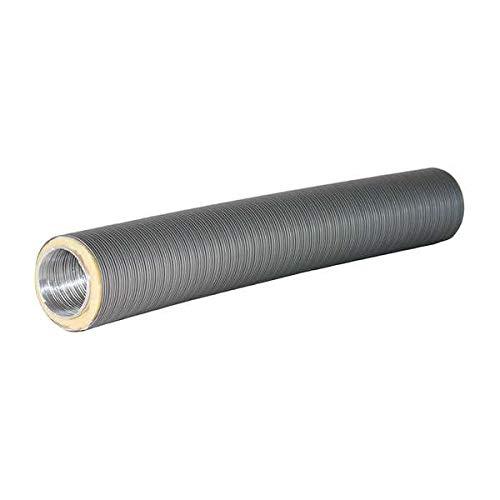 Ø 125 mm Isoliertes Aluflexrohr Therm-Flex Grau 75 cm