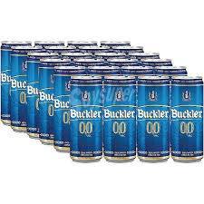 Buckler 00 Cerveza - Paquete de 24 x 330 ml - Total: 7920 ml