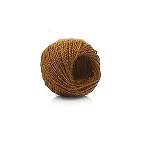 "Christmas Ribbon Wire Edged Thanksgiving Cadeau Emballage Jute Marron /""de Hesse/'"