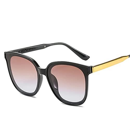 HNGM Gafas de Sol Retro Gato Gafas de Sol Gafas de Sol Damas Ray Protección Espejo Gafas de Sol (Lenses Color : 2 JH18033 C5)