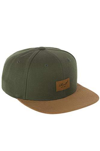 Reell Cap Suede 6-Panel Cap, Dark Olive, Einheitsgröße