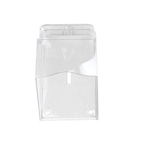 Xiuinserty Cubierta impermeable para timbre de puerta inalámbrico Pulsador de timbre Transparente