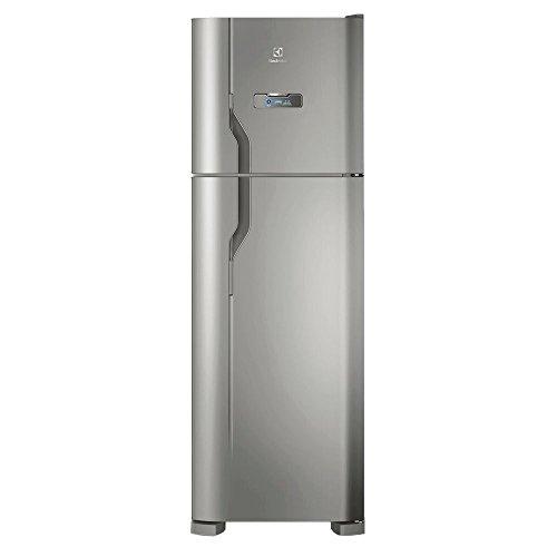 Geladeira/Refrigerador Frost Free Electrolux Inox 371L (DFX41) 220V