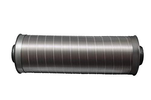 Telefonieschalldämpfer 80mm / 75cm lang