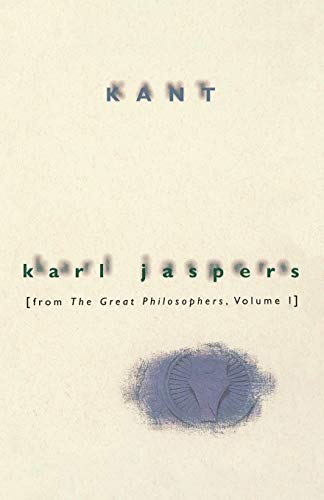 Kant: From The Great Philosophers, Volume 1