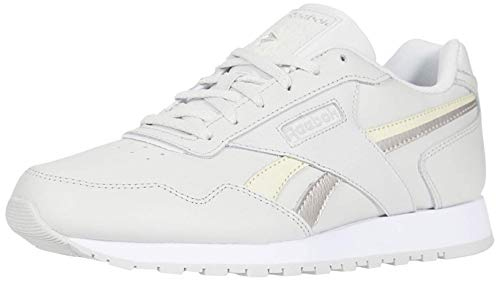 Reebok Women's Classic Harman Run Sneaker, Porcelain/Alabaster/White