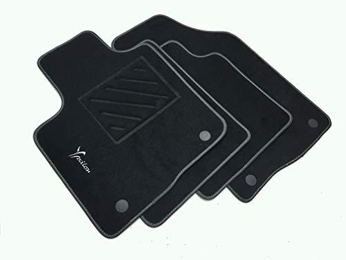 Tappetini compatibili per Ypsilon 3° dal 2011- con Clip,1 Logo e battitacco