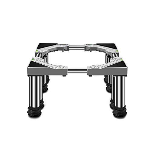Soporte Universal para Secadora, Lavadora y Refrigerador Ajustable Largo 65-80cm Ancho 36-55cm Pesado Heightening Estante Cocinas Lavavajillas Pedestal Prueba De Humedad - 400kg